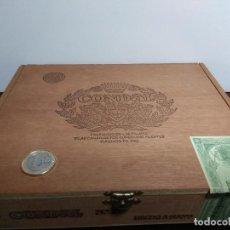 Cajas de Puros: CAJA MADERA PUROS CONDAL Nº 1. Lote 76794737
