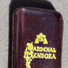 Cajas de Puros: PETACA O PITILLERA PURERA DE PUBLICIDAD DE CARDENAL MENDOZA NUEVA A ESTRENAR. Lote 77213461