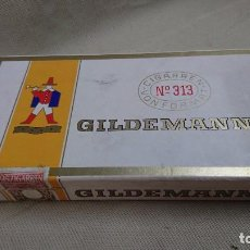 Cajas de Puros: ANTIGUA CAJA DE PUROS GILDEMANN 313 . Lote 80672618