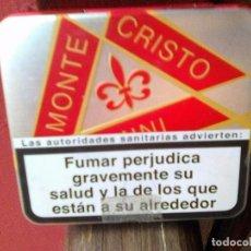 Cajas de Puros: LATA DE PURITOS MONTECRISTO - MONTE CRISTO PUROS. Lote 82678992