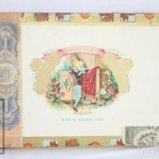 Cajas de Puros: CAJA VACÍA DE 10 PUROS DE TABACO ROMEO NO. 1 - ROMEO Y JULIETA - HABANA, CUBA. Lote 82845560