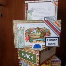 Cajas de Puros: LOTE 7 CAJAS DE PUROS DE DIFERENTES MARCAS. Lote 82921504