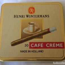Cajas de Puros: HENRY WINTERMANS 20 CAFÉ CREMÉ CAJA COMPLETA DE PUROS MADE IN HOLLAND. Lote 83378884