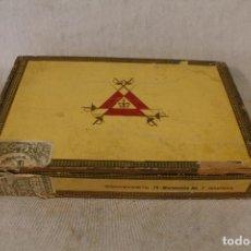 Cajas de Puros: CAJA DE PUROS MONTECRISTO - HABANA - Nº2. Lote 83660728