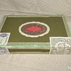 Cajas de Puros: CAJA DE MADERA VACÍA DE PUROS - LA FLOR DE CANO - 25 PETIT CORONAS - HABANA, CUBA . Lote 84404920