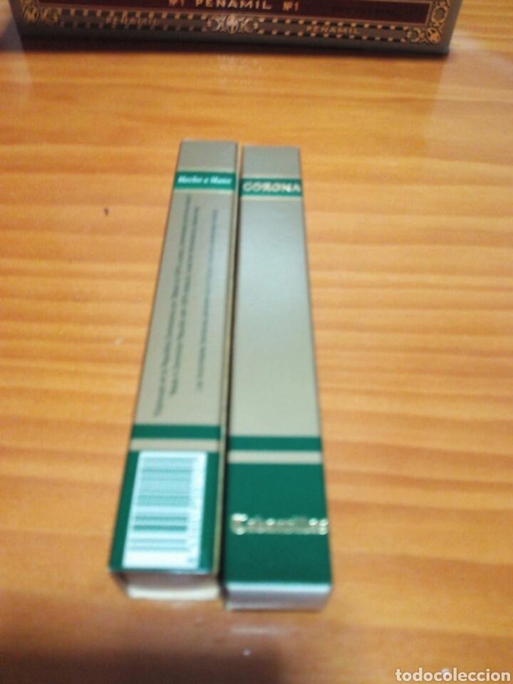 LOTE 2 PUROS CORONA.TABANTILLAS (Coleccionismo - Objetos para Fumar - Cajas de Puros)