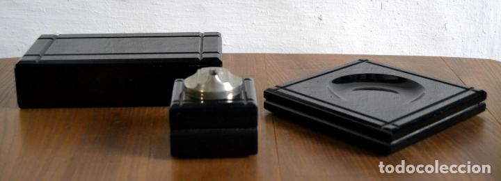 Cajas de Puros: Juego de Fumador en 3 piezas / Cenicero Mechero y Caja Cigarrera Tabaquera Purera - Foto 4 - 85278556