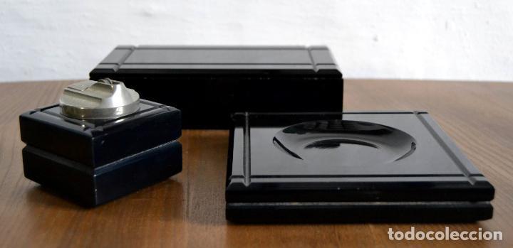 Cajas de Puros: Juego de Fumador en 3 piezas / Cenicero Mechero y Caja Cigarrera Tabaquera Purera - Foto 6 - 85278556