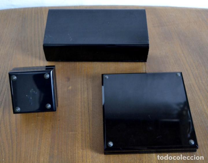 Cajas de Puros: Juego de Fumador en 3 piezas / Cenicero Mechero y Caja Cigarrera Tabaquera Purera - Foto 8 - 85278556
