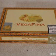 Cajas de Puros: CAJA DE PUROS VEGA FINA - REPÚBLICA DOMINICANA. Lote 85850272
