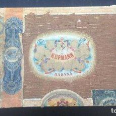 Cajas de Puros: CAJA DE PUROS HABANOS HUPMANN HABANA CUBA. Lote 86342164