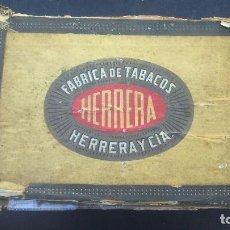Cajas de Puros: CAJA DE PUROS HERRERA. Lote 86342888