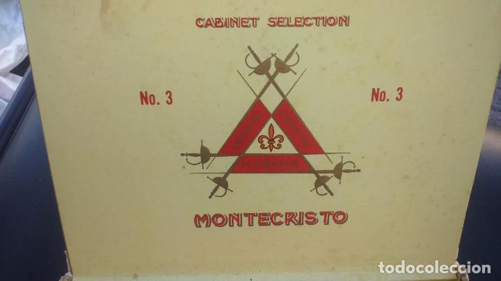 Cajas de Puros: caja puros montecristo - Foto 2 - 86343012