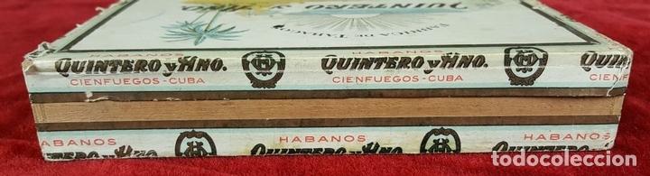 Cajas de Puros: LOTE DE 3 CAJAS DE PUROS EN MADERA. LA HABANA. CUBA. PRINCIPOS SIGLO XX. - Foto 4 - 86368416