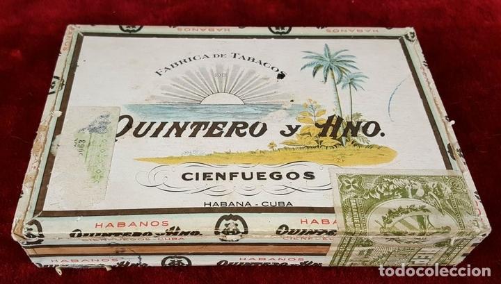 Cajas de Puros: LOTE DE 3 CAJAS DE PUROS EN MADERA. LA HABANA. CUBA. PRINCIPOS SIGLO XX. - Foto 7 - 86368416