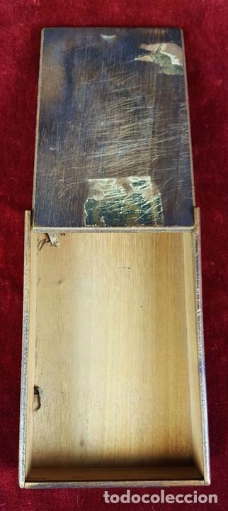 Cajas de Puros: LOTE DE 3 CAJAS DE PUROS EN MADERA. LA HABANA. CUBA. PRINCIPOS SIGLO XX. - Foto 11 - 86368416