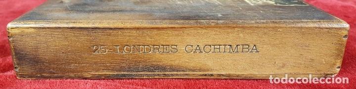 Cajas de Puros: LOTE DE 3 CAJAS DE PUROS EN MADERA. LA HABANA. CUBA. PRINCIPOS SIGLO XX. - Foto 12 - 86368416