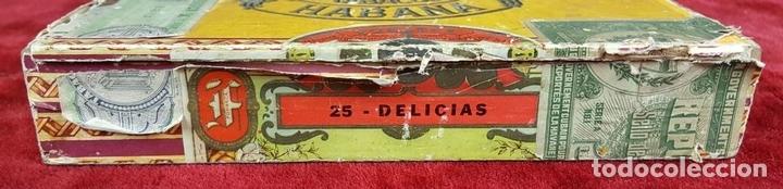 Cajas de Puros: LOTE DE 3 CAJAS DE PUROS EN MADERA. LA HABANA. CUBA. PRINCIPOS SIGLO XX. - Foto 16 - 86368416