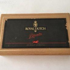 Cajas de Puros: CAJA DE PUROS ROYAL DUTCH RITMEESTER, HOLANDA. Lote 86506395