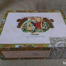 Cajas de Puros: CAJA DE MADERA VACÍA DE PUROS ROMEO Y JULIETA - 25 ROMEO N 2 - HABANA CUBA . Lote 89376184