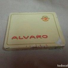 Cajas de Puros: CAJA METÁLICA VACIA PUROS ÁLVARO - DON ÁLVARO 10 . Lote 89955300