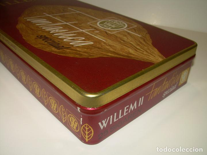 Cajas de Puros: CAJA METALICA LITOGRAFIADA LLENA CON DE 25 PUROS..WILLEM II. - Foto 4 - 90760745