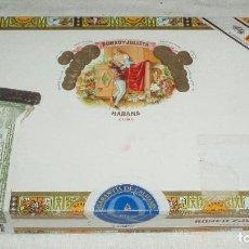 Cajas de Puros: CAJA DE PUROS ROMEO Y JULIETA HABANA CUBA. Lote 91193745