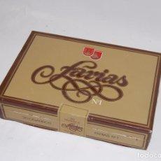 Cajas de Puros: CAJA DE PUROS ANTIGUA FARIAS VACIA. Lote 91868525