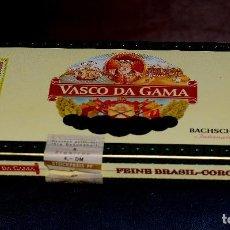Cajas de Puros: CAJA DE PUROS (SOLO LA CAJA) VASCO DA GAMA BACHSCHMIDT INTERNATIONAL (#7). Lote 92366935