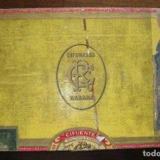 Cajas de Puros: CAJA PUROS CIFUENTES LA HAVANA - CUBA PRE REVOLUCION (VACIA) VER FOTOS. Lote 92899055