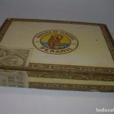 Cajas de Puros: CAJA DE MADERA DE PUROS. VACIA.. Lote 93580590