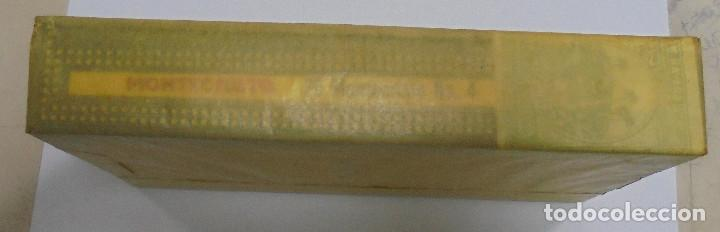 Cajas de Puros: CAJA DE PUROS. MONTECRISTO. Nº 4. AÑO 1980. CERRADA. VER FOTOS. PERFECTO ESTADO - Foto 7 - 103955474