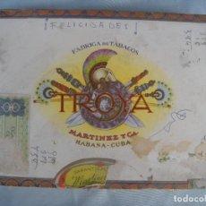 Cajas de Puros: CAJA DE PUROS HABANOS TROYA. Lote 96780991