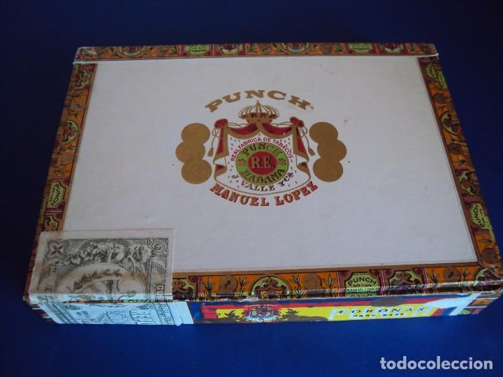 (TA-170901)CAJA PUROS MANUEL LOPEZ - PUCH - HABANA - CUBA (Coleccionismo - Objetos para Fumar - Cajas de Puros)