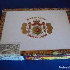 Cajas de Puros: (TA-170901)CAJA PUROS MANUEL LOPEZ - PUCH - HABANA - CUBA. Lote 97771787