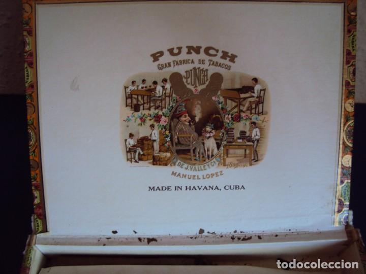 Cajas de Puros: (TA-170901)CAJA PUROS MANUEL LOPEZ - PUCH - HABANA - CUBA - Foto 2 - 97771787
