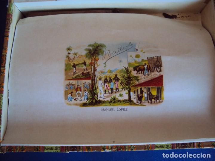 Cajas de Puros: (TA-170901)CAJA PUROS MANUEL LOPEZ - PUCH - HABANA - CUBA - Foto 3 - 97771787
