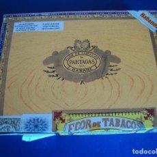 Cajas de Puros: (TA-170966)CAJA DE PUROS PARTAGAS - HABANA - CUBA. Lote 97772035