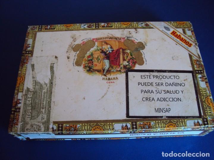 (TA-170902)CAJA DE PUROS ROMEO Y JULIETA - HABANA - CUBA (Coleccionismo - Objetos para Fumar - Cajas de Puros)