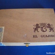 Cajas de Puros: (TA-170905)CAJA DE 25 PUROS EL GUAJIRO - CANARIAS. Lote 97773619