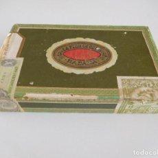 Cajas de Puros: CAJA ANTIGUA DE PUROS HABANOS LA FLOR DE CANO. Lote 97795055
