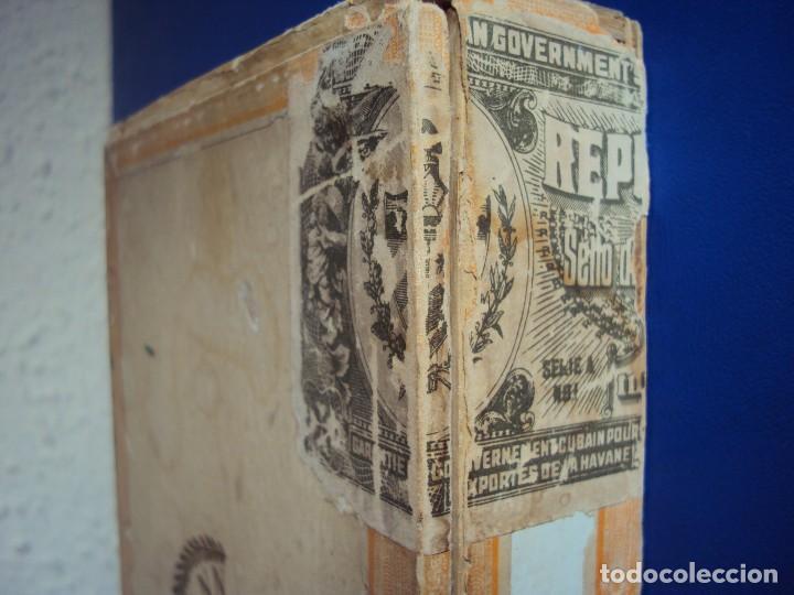 Cajas de Puros: (TA-170908) CAJA DE PUROS H.UPMANN - HABANA - CUBA - Foto 4 - 98116947