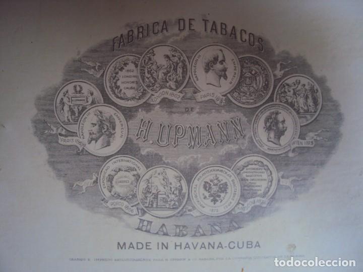 Cajas de Puros: (TA-170908) CAJA DE PUROS H.UPMANN - HABANA - CUBA - Foto 12 - 98116947