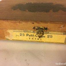 Cajas de Puros: RAL295 CAJA DE PURO PUROS FABRICA DE TABACO. Lote 98230315