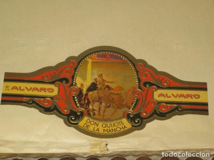 Cajas de Puros: CAJA DE PUROS ALVARO. FABRICA DE TABACOS. ISLAS CANARIAS - Foto 2 - 98962435