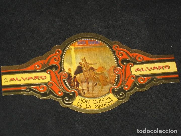 Cajas de Puros: CAJA DE PUROS ALVARO. FABRICA DE TABACOS. ISLAS CANARIAS - Foto 4 - 98962435