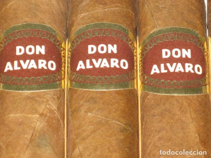 Cajas de Puros: CAJA DE PUROS ALVARO. FABRICA DE TABACOS. ISLAS CANARIAS - Foto 5 - 98962435