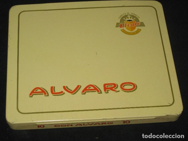 Cajas de Puros: CAJA DE PUROS ALVARO. FABRICA DE TABACOS. ISLAS CANARIAS - Foto 6 - 98962435