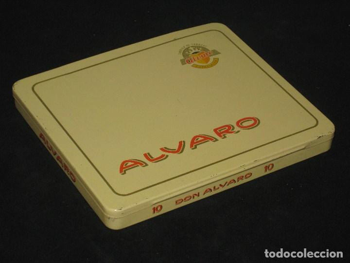 Cajas de Puros: CAJA DE PUROS ALVARO. FABRICA DE TABACOS. ISLAS CANARIAS - Foto 7 - 98962435