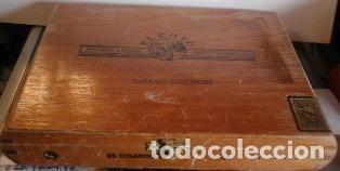 CAJA DE PUROS MADERA EL COTO, REPÚBLICA DOMINICANA. (Coleccionismo - Objetos para Fumar - Cajas de Puros)